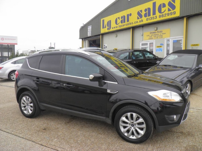 Car of the week - Ford Kuga TITANIUM TDCI 2WD - Only £8,995