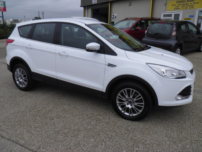 used Ford Kuga TITANIUM TDCI 2WD in ely-cambridgeshire