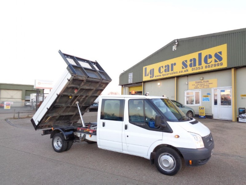 used Ford Transit 350 DRW Tipper in ely-cambridgeshire