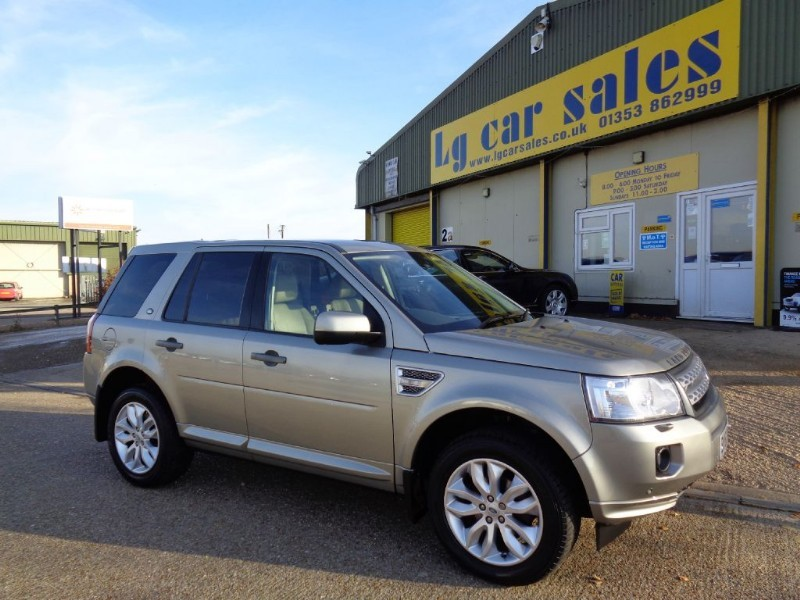 used Land Rover Freelander SD4 HSE in ely-cambridgeshire