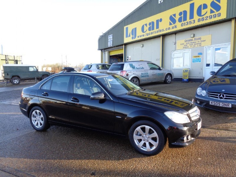 used Mercedes C200 CDI BLUEEFFICIENCY SE EDITION 125 in ely-cambridgeshire