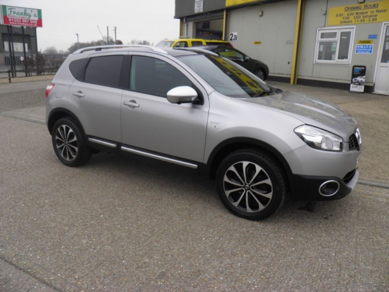 used Nissan Qashqai N-TEC PLUS DCI in ely-cambridgeshire