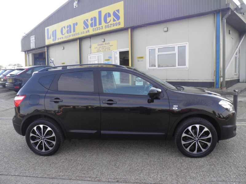 used Nissan Qashqai DCI 360 in ely-cambridgeshire