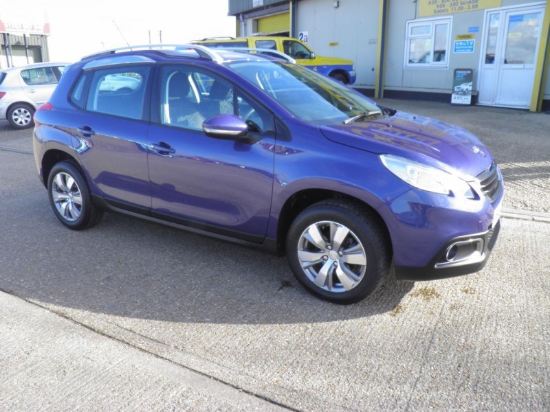 used Peugeot 2008 HDI ACTIVE in ely-cambridgeshire