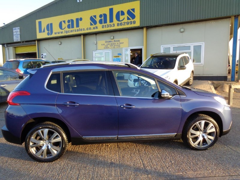 Car of the week - Peugeot 2008 E-HDI FELINE MISTRAL - Only £10,495