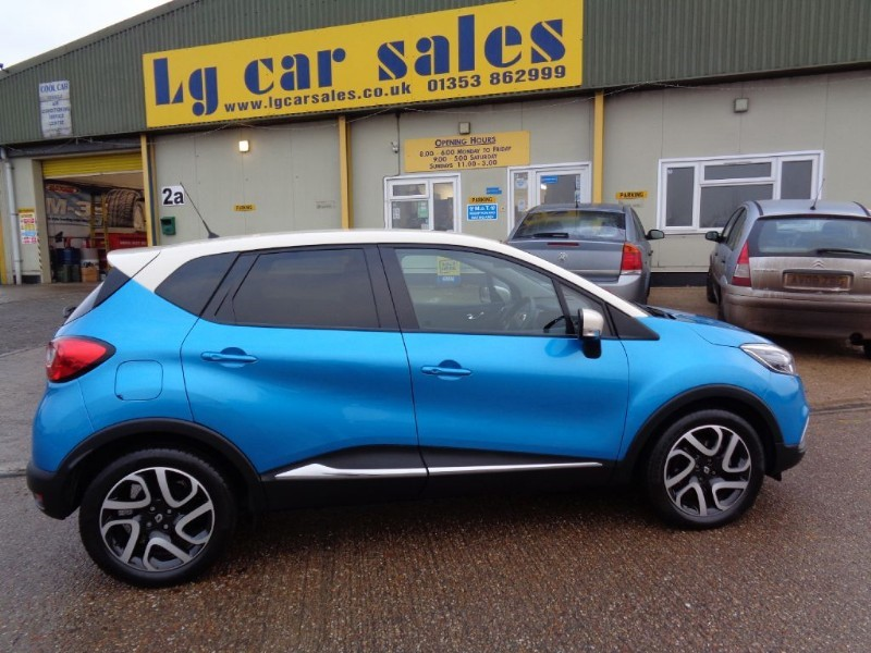 used Renault Captur DYNAMIQUE S MEDIANAV ENERGY DCI S/S in ely-cambridgeshire