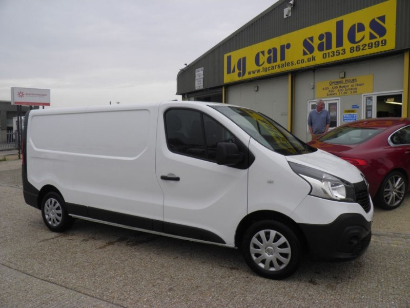 used Renault Trafic LL29 BUSINESS DCI S/R P/V in ely-cambridgeshire