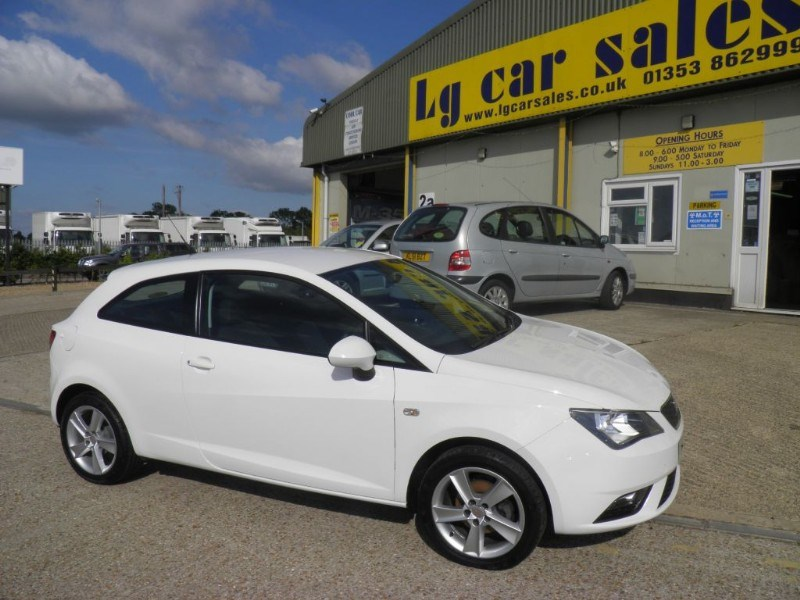 Car of the week - SEAT Ibiza TOCA - Only £7,495