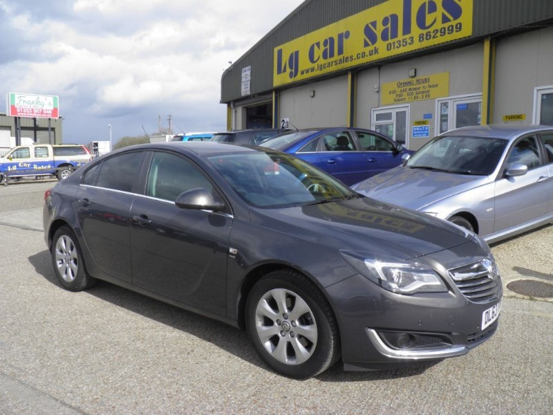 used Vauxhall Insignia SRI CDTI in ely-cambridgeshire