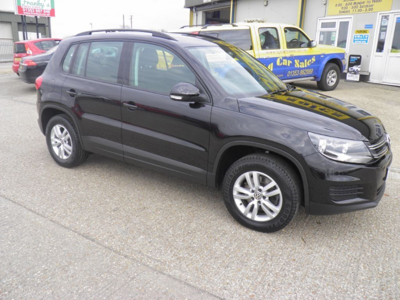 used VW Tiguan S TDI BLUEMOTION TECHNOLOGY in ely-cambridgeshire