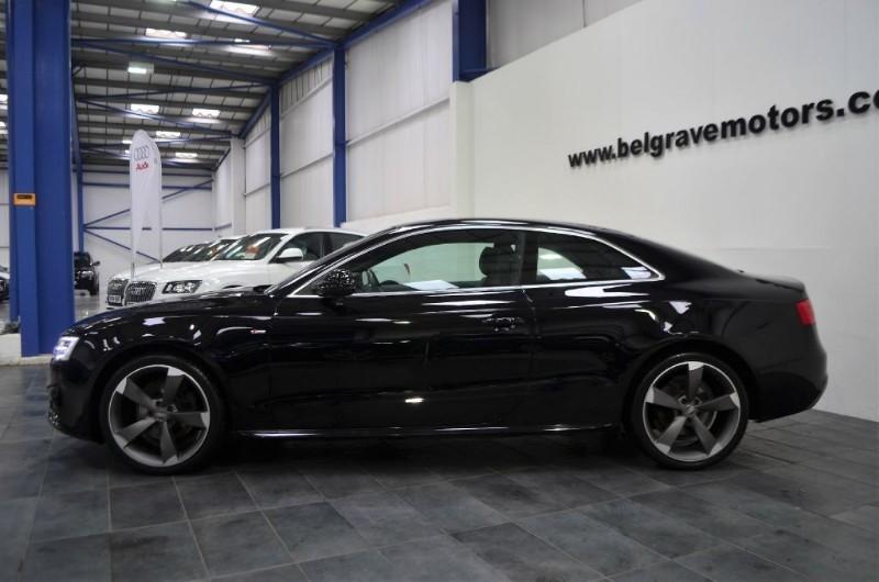Audi a5 tdi 177 quattro s line 4x4 19 black edition - Audi a5 coupe s line black edition for sale ...