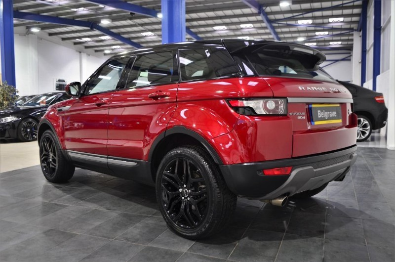 land rover range rover evoque sd4 pure auto pan roof 20 dynamic alloys 5dr 47 mpg for sale in. Black Bedroom Furniture Sets. Home Design Ideas