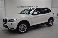 Used BMW X3 XDRIVE 20D SE AUTO PROFESSIONAL MEDIA LEATHER