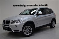 Used BMW X3 XDRIVE 20D SE GREAT SPEC HEATED LEATHER 50+MPG
