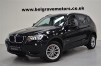 Used BMW X3 SDRIVE18D SE FULL HEATED LEATHER BLUETOOTH