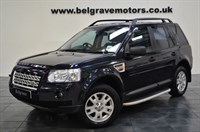 Used Land Rover Freelander TD4 XS PRIVACY ALPINE SOUND SYSTEM