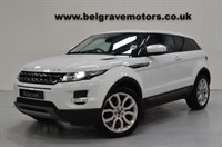 Used Land Rover Range Rover Evoque SD4 AUTO PURE 4x4 3DR