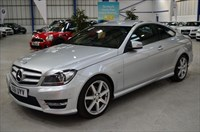 Used Mercedes C180 BLUEEFFICIENCY AMG SPORT EDITION 125 SAT NAV