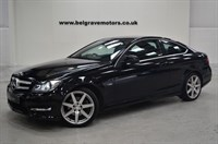 Used Mercedes C220 CDI AUTO BLUEEFFICIENCY AMG SPORT ED125 NAV