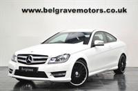 "Used Mercedes C220 CDI AMG SPORT 19"" C63 ALLOYS SAT NAV PREP 2DR 55+MPG"