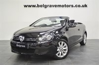Used VW Golf SE TDI BLUEMOTION TECH £30 TAX CABRIOLET 64+MPG