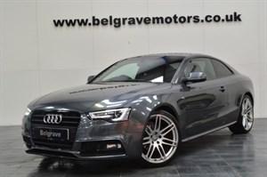 Audi A5 TFSI S LINE BLACK EDITION - 20 ALLOYS EXCLUSIVE EXTRAS