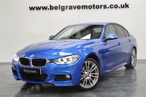 BMW 320d XDRIVE M SPORT AUTO 19 ALLOYS HEATED LEATHER 4WD 58MPG