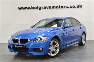 BMW 320d XDRIVE M SPORT AUTO HEATED LEATHER 4WD 58MPG