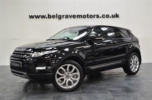 Land Rover Range Rover Evoque SD4 PURE TECH PAN ROOF
