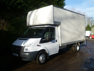 Ford Transit 350 DRW125 PSI WITH TAIL LIFT