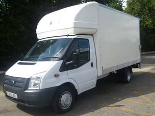 Ford Transit 350 DRW 125psi with tail lift
