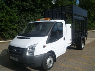 Ford Transit 350 LWB 115psi CAGED TIPPER