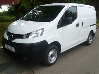 Nissan NV200 SE DCI 89PSI WITH TWIN SIDE DOORS