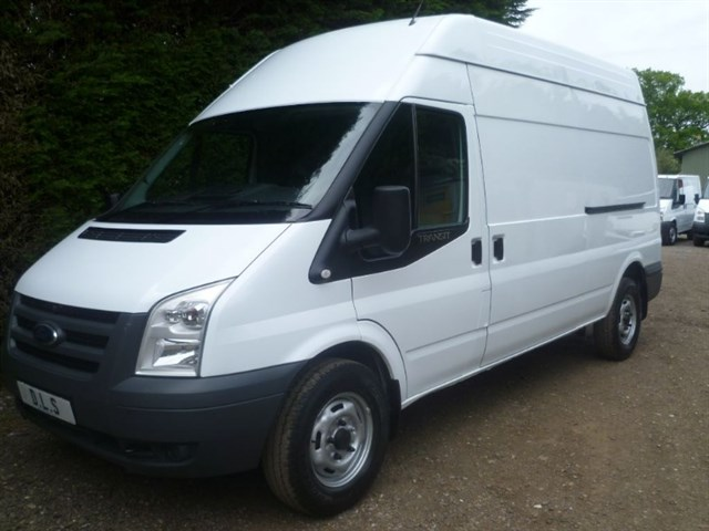 Ford Transit 350 H/R 100psi 6 Speed Diesel, Manual, White