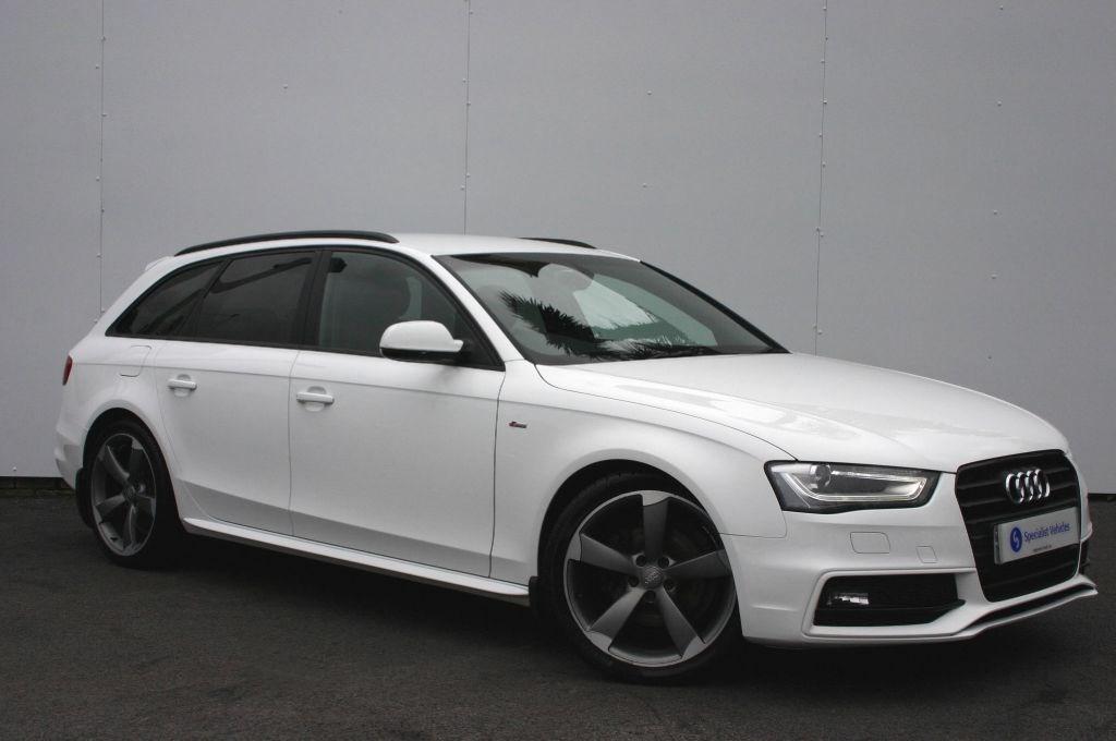 Used Ibis White Audi A4 Avant For Sale Devon