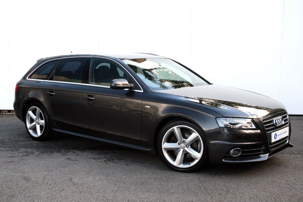 Used Lava Grey Metallic Audi A4 Avant For Sale Devon