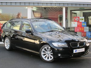 "used BMW 320d SE Touring - 17"" ALLOYS - VERY LOW MILEAGE - FBMWSH - ONLY £140 TAX in plymouth-devon"