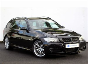 used BMW 335d M Sport Touring - VERY LOW MILEAGE-TWIN TURBO-SUNROOF-FULL LEATHER-FSH in plymouth-devon