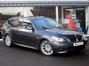 used BMW 520d M Sport Touring - SAT NAV - FULL LEATHER in plymouth-devon