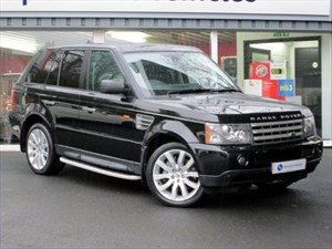 "used Land Rover Range Rover Sport TDV8 HSE - SAT NAV - 20"" ALLOYS - FRRSH - RANGE ROVER UK WARRANTY in plymouth-devon"