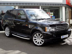 used Land Rover Range Rover Sport 3.6 TDV8 HSE - LEATHER - SAT NAV - FSH in plymouth-devon