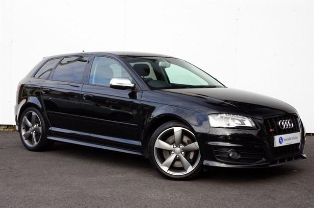 used Audi S3 Sportback QUATTRO Black Edition -VERY LOW MILEAGE-SAT NAV-FULL AUDI HISTORY in plymouth-devon