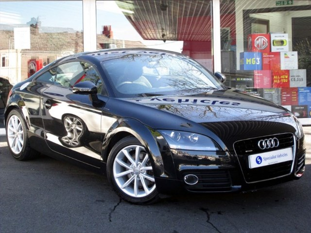 used Audi TT TFSi QUATTRO Sport Coupe - HALF LEATHER - LOW MILEAGE - FASH in plymouth-devon