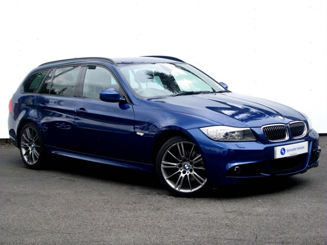 "used BMW 318d Sport Plus Edition Touring - 18"" ALLOYS - FULL LEATHER - FSH - ONLY 1 OWNER in plymouth-devon"