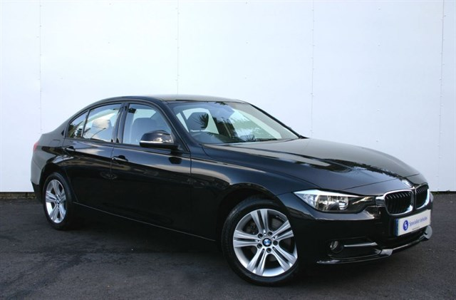 used BMW 320d Sport 4dr - £30 ROAD TAX - FULL LEATHER - 1 OWNER - FBMWSH in plymouth-devon