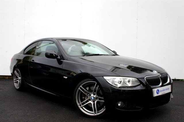 "used BMW 335d M Sport Coupe - 19"" ALLOYS - SAT NAV - FULL LEATHER - SUNROOF in plymouth-devon"