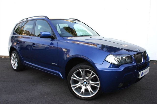 "used BMW X3 xDrive20d M Sport Auto - FULL LEATHER-19"" ALLOYS-VERY LOW MILEAGE-FBMWSH in plymouth-devon"