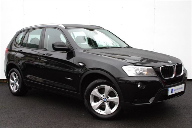 "used BMW X3 XDrive20d SE - 17""ALLOYS- FULL LEATHER - FULL BMW SERVICE HISTORY - 1 OWNER in plymouth-devon"