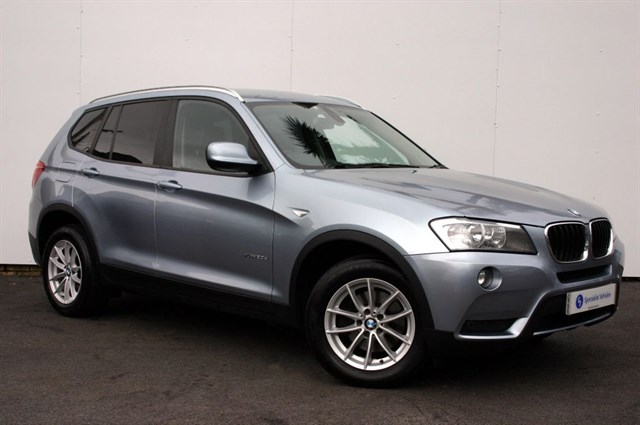 used BMW X3 xDrive20d SE - BLACK LEATHER - FULL BMW HISTORY - SERVICE PACK - 1 OWNER in plymouth-devon