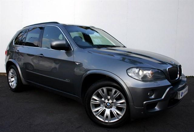 used BMW X5 3.0D M Sport Auto - SAT NAV - FULL BLACK LEATHER - FSH in plymouth-devon